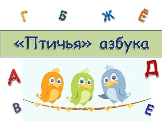 викторина птичья азбука